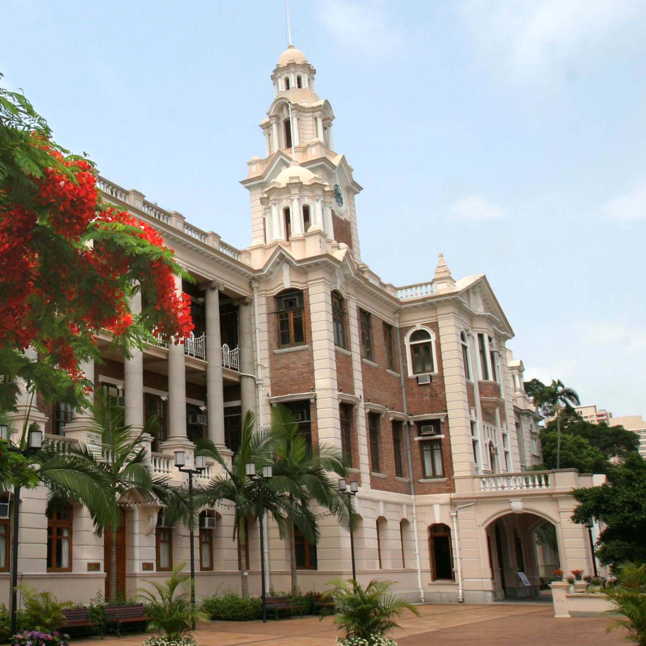 HKU Main Building.