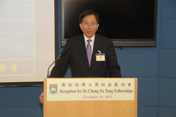 Professor YS Chan, Chairman of the Committee of Management
