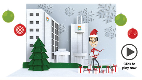 Season's Greetings from the Dean of Medicine
